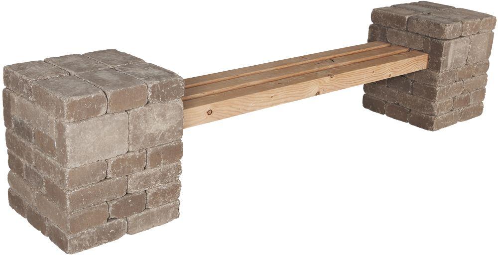 Pavestone Rumblestone™ Bench No. 2 Instructions #diy | DIY ...