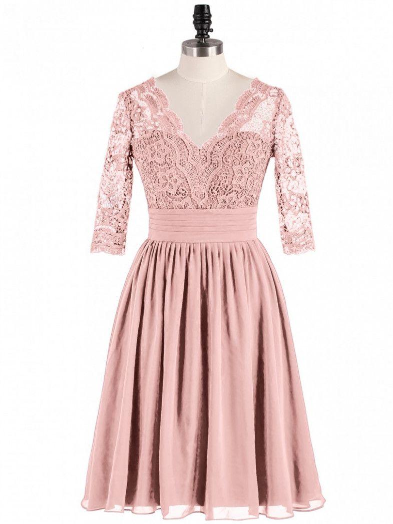 14 Kleid Rosa Spitze in 14  Kleider, Kleid spitze, Rosa kleid