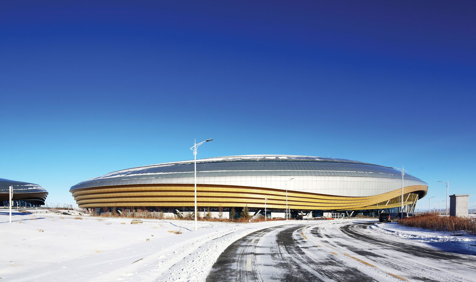 Gallery of Ice Sports Center of the 13th China National