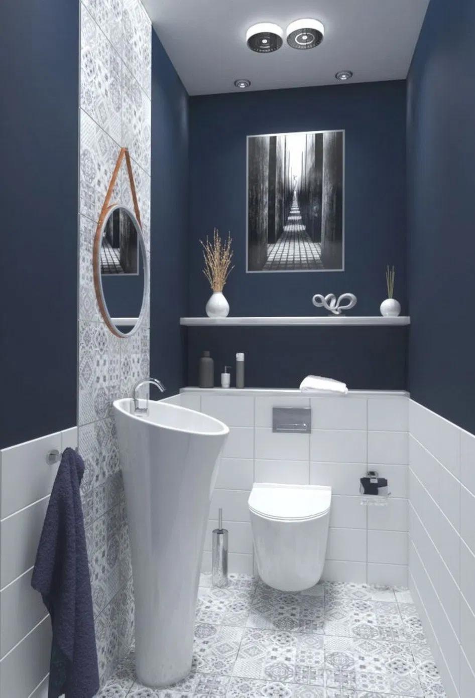 Photo of 15 small bathroom designs and ideas 8 #bathroomideas #bathroomdesign #bathroomdecor » helpwritingessays.net #badeværelseinspiration
