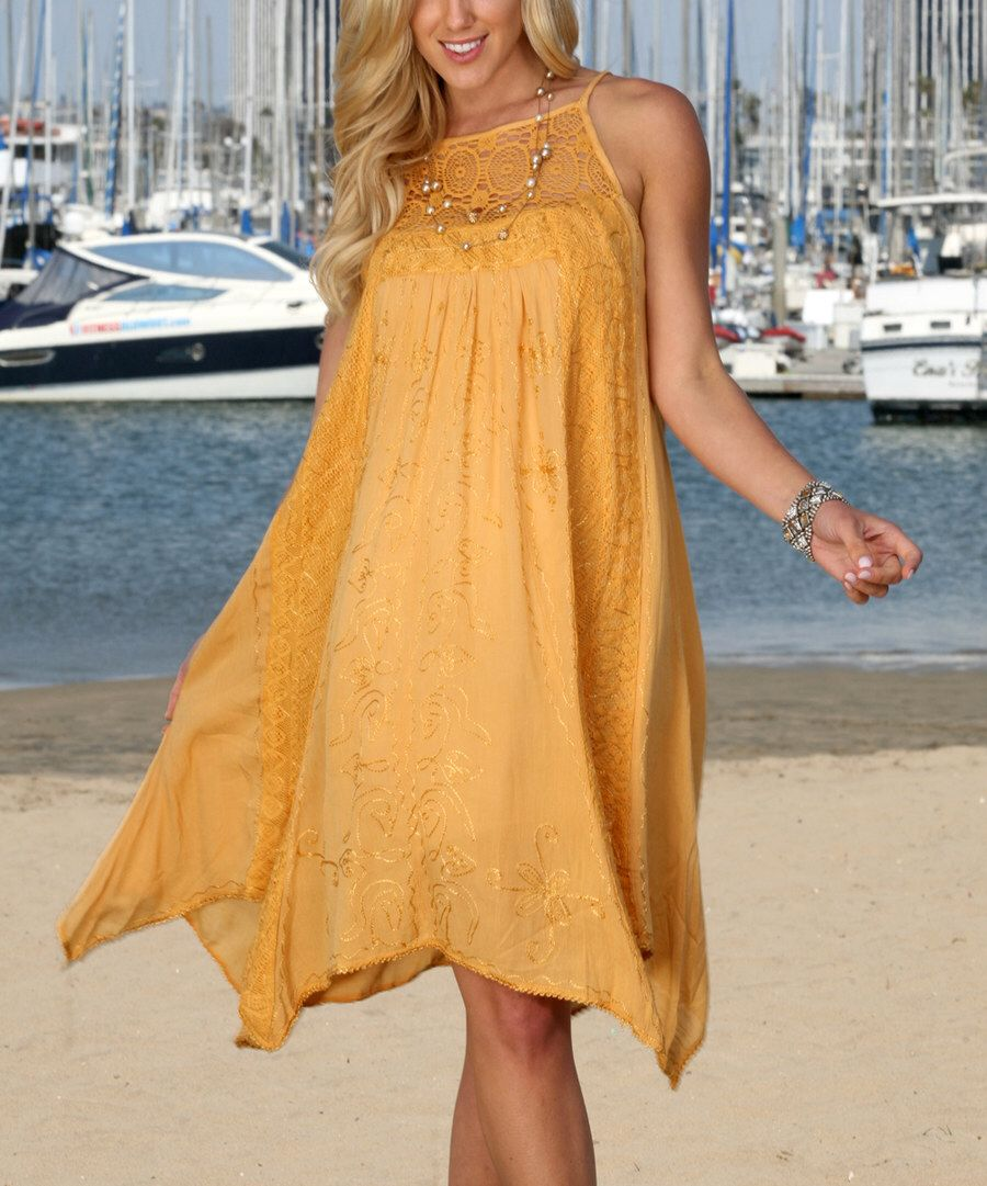 Look at this anandaus collection mustard crochet laceaccent