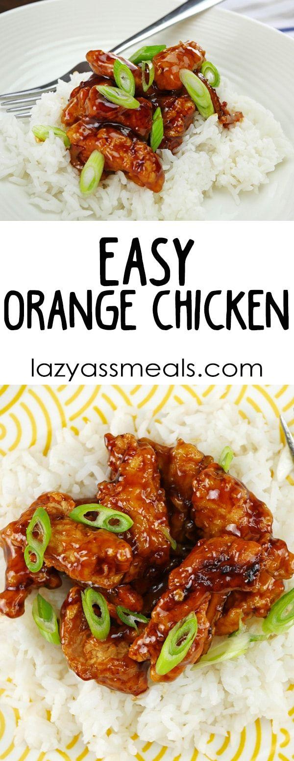Easy Orange Chicken images