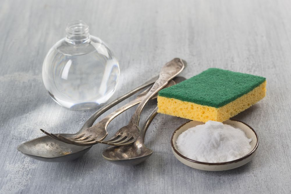 Vinegar and baking soda cleaning Baking soda cleaning