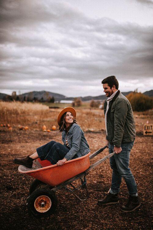 Pumpkin Patch Couple Photos {Utah Wedding Photographer} — Kevyn Bruce Photography