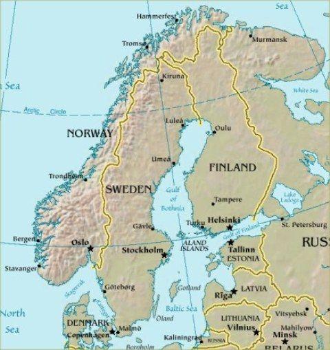 Vikings Lapbook Scandinavia Vikings Hammerfest