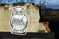 IMG_031634 (In this twilight...) Tags: england streetart graffiti unitedkingdom owl stokeontrent staffordshire owlgraffiti