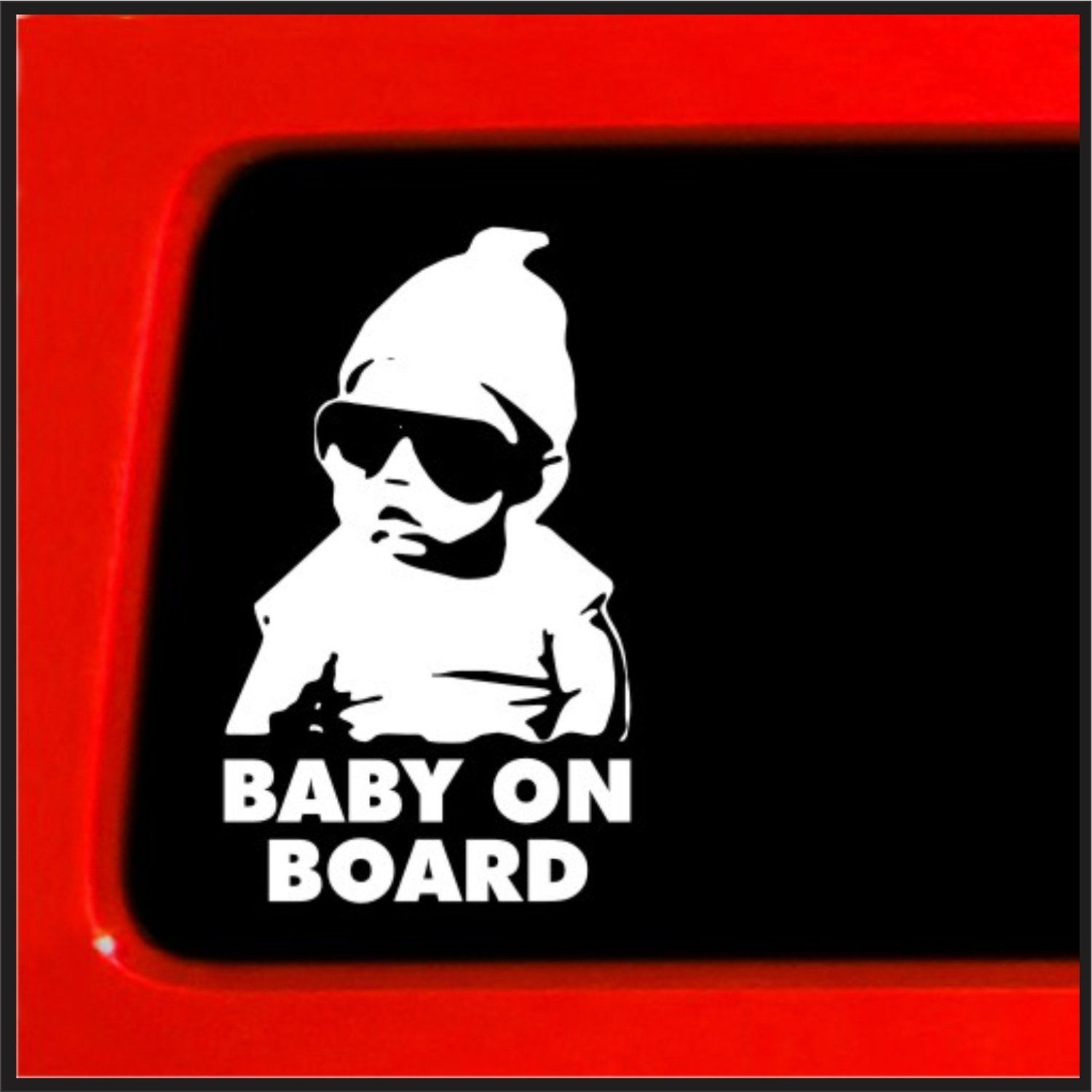 Amazoncom Baby On Board Carlos Hangover Funny Car Vinyl Sticker - Vinyl stickers on cars