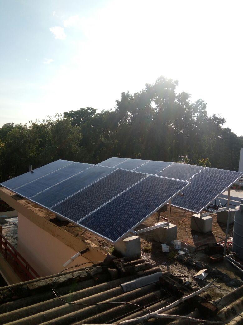 The Solar Panel Mounting Structure is very affordable
