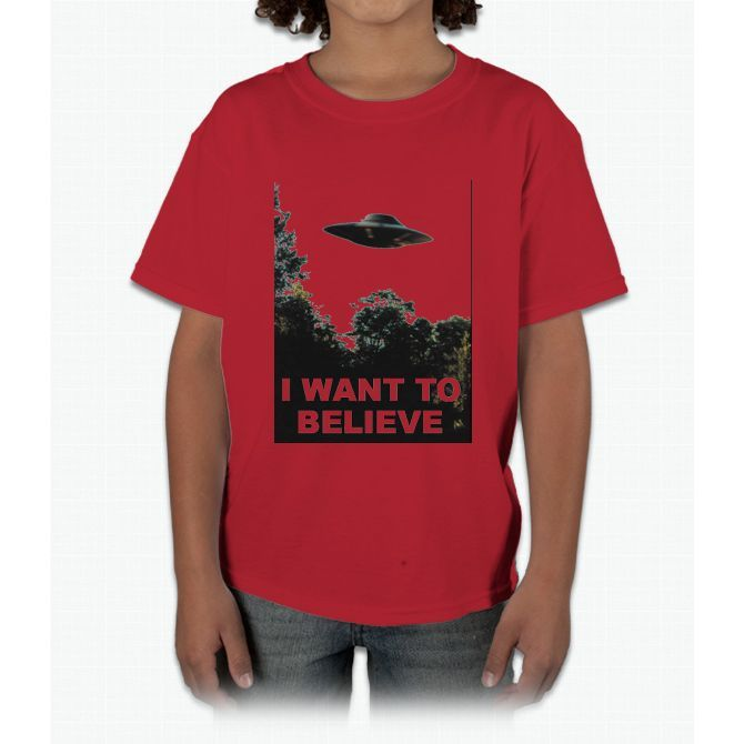 I Want to Believe Young T-Shirt