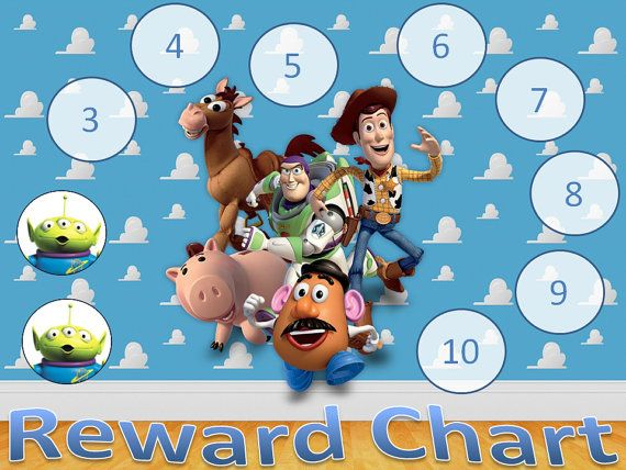 Toy Story Potty Training Certificate : This is a listing for digital copy of toy story reward