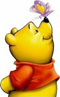 I personaggi dei cartoni animati da winnie the pooh verniciato a