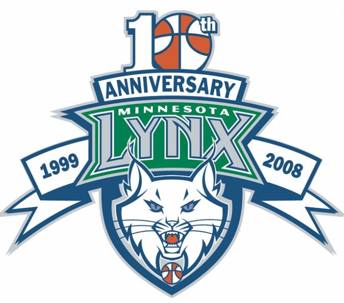 Minnesota Lynx Anniversary Logo Minnesota Lynx