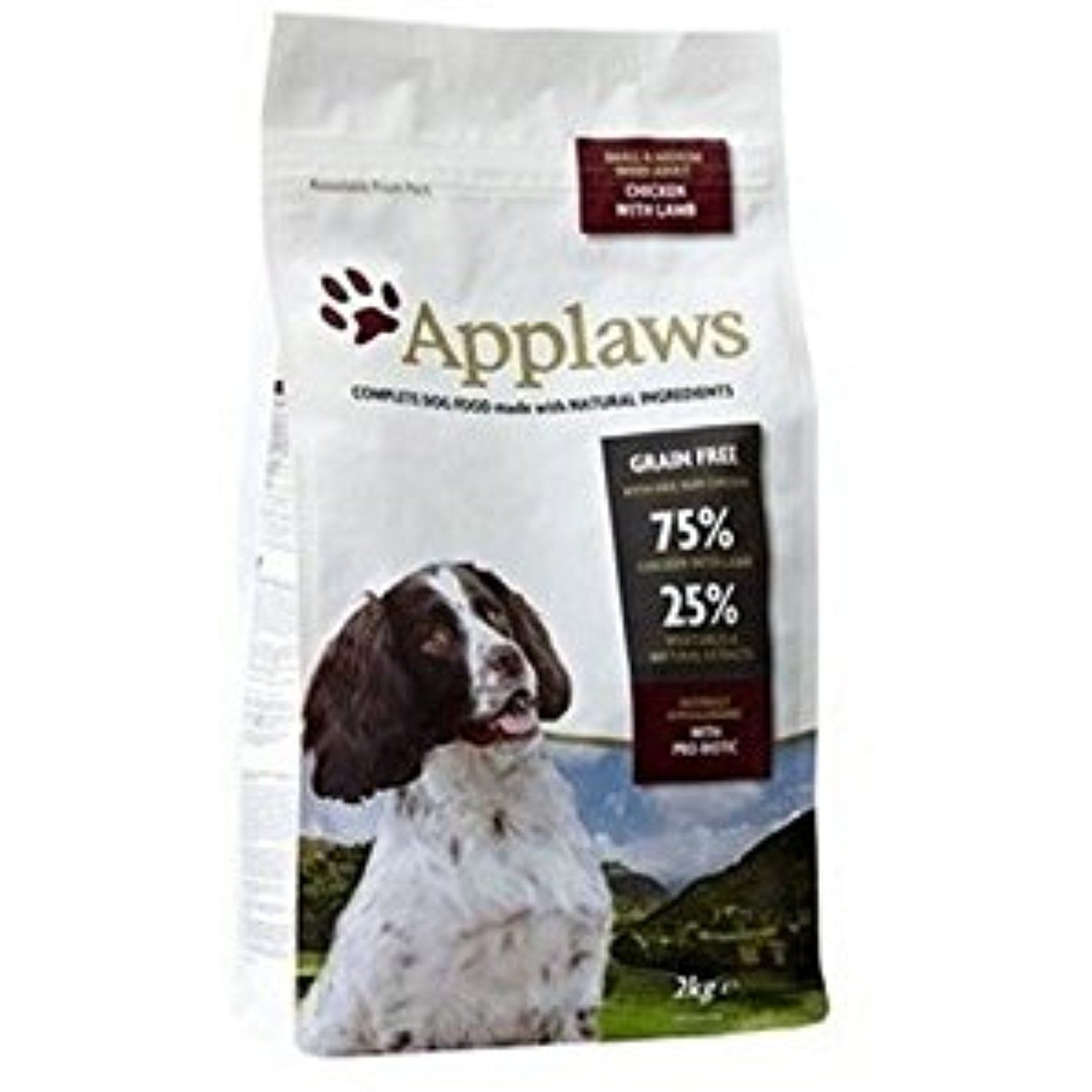 Applaws Dry Dog Food Chicken with Lamb Small and Medium