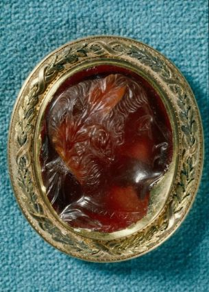Cameo with portrait bust of Tiberius  Roman, Imperial Period, early 1st century
