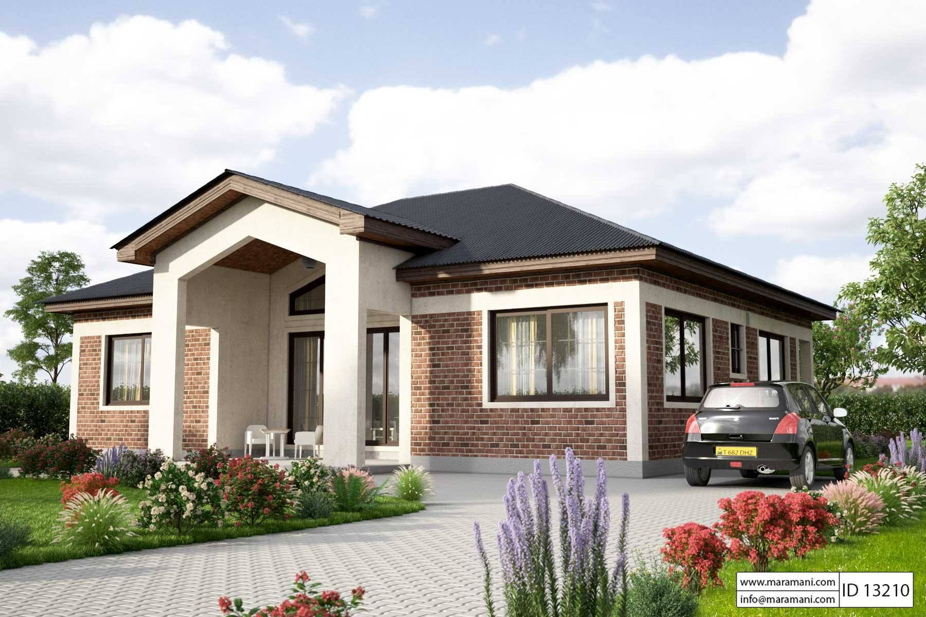 Simple House Design - ID 13210 - House Plans (With images ...