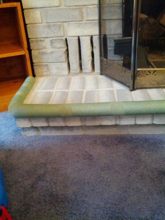 Pool Noodles On The Fireplace Baby Proofing 3 For