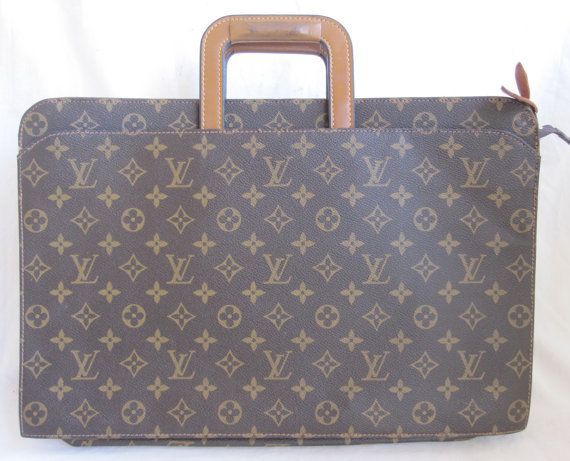 94927116235 amazing VINTAGE LOUIS VUITTON briefcase french company made in ...