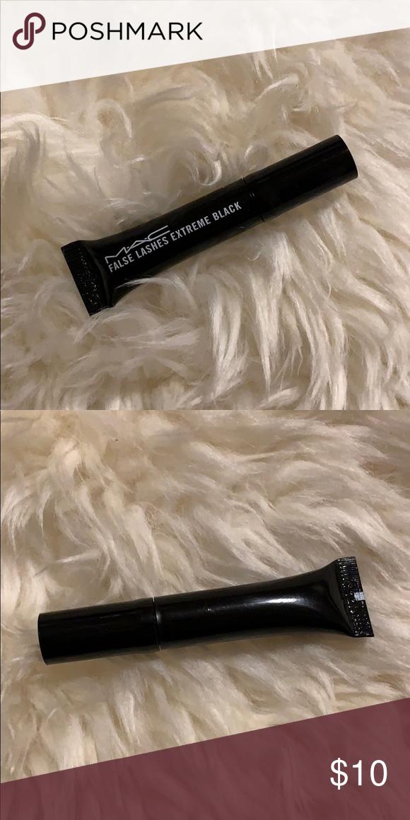Mini Extreme Cosmetics Black Mascara Free False Mac Lashes Yfg6yb7