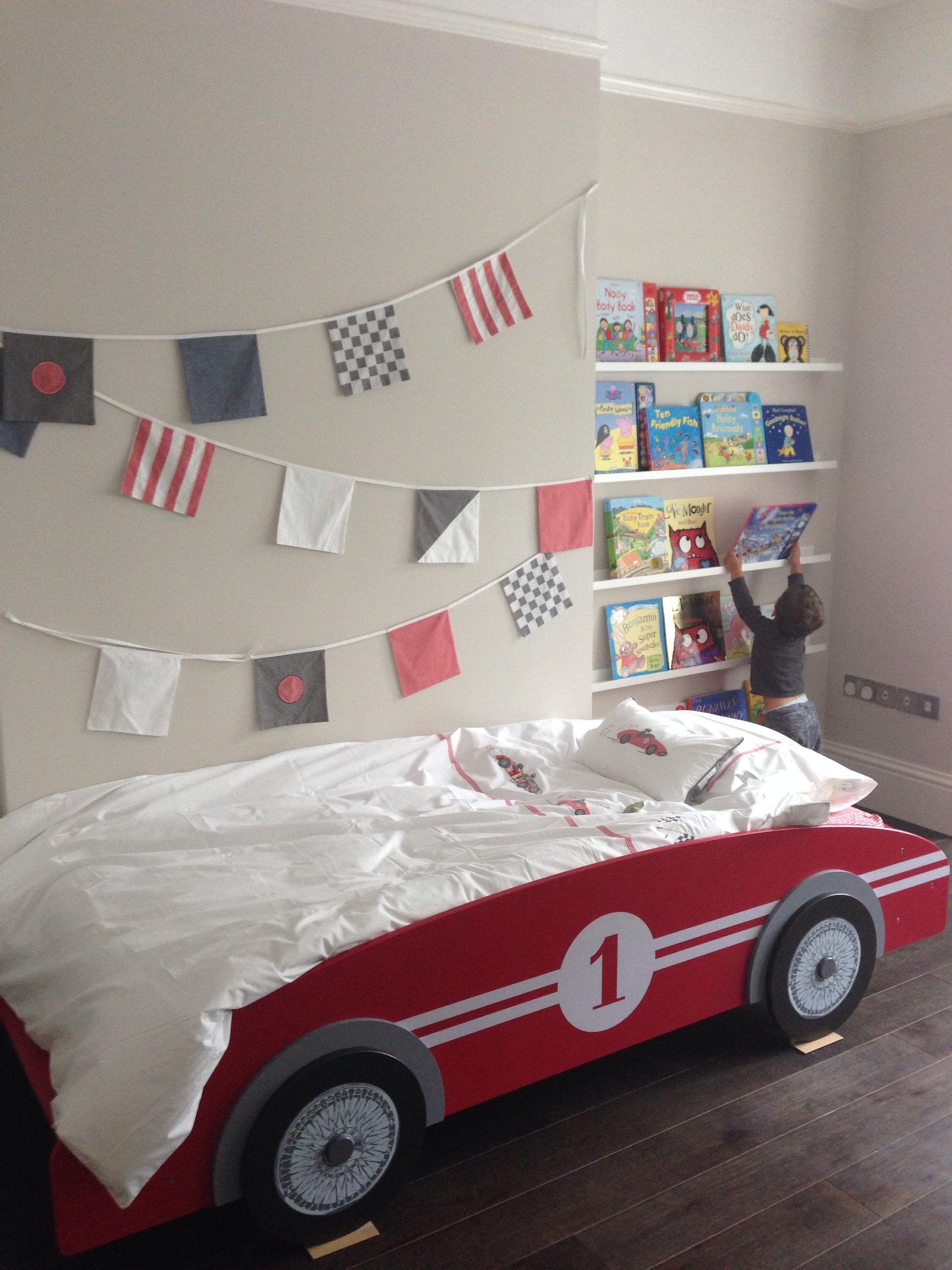 Racing Car Childrens Bedroom Furniture