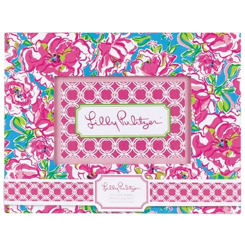Lucky Charms Lilly Pulitzer Picture Frame   Stuff I need   Pinterest