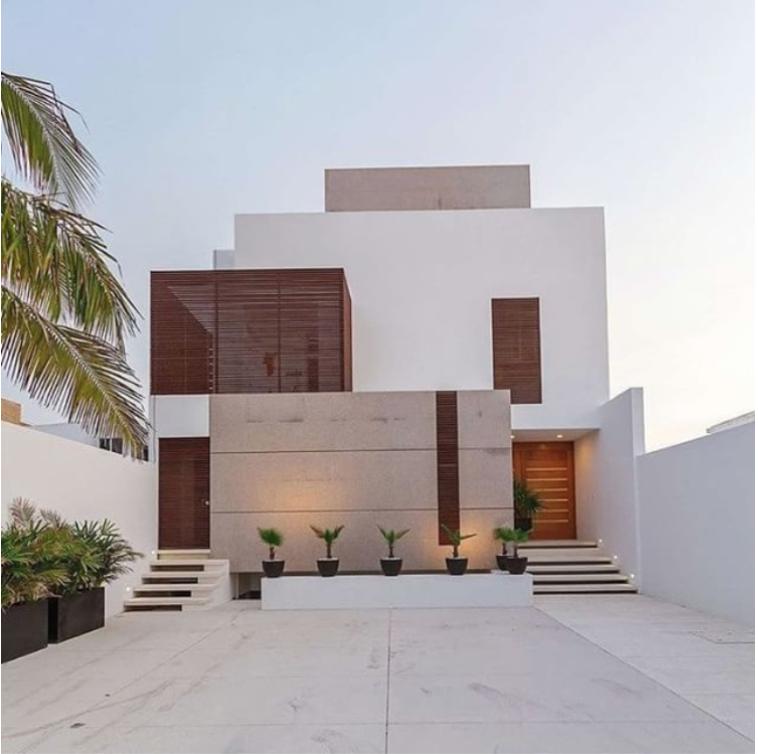 square modern house