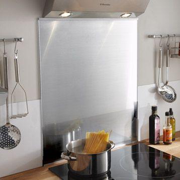 fond de hotte en verre delinia 60x70 cm leroy merlin. Black Bedroom Furniture Sets. Home Design Ideas
