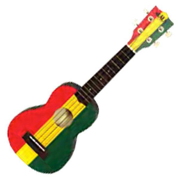 reggae guitar rasta guitar ukulele en music instruments. Black Bedroom Furniture Sets. Home Design Ideas
