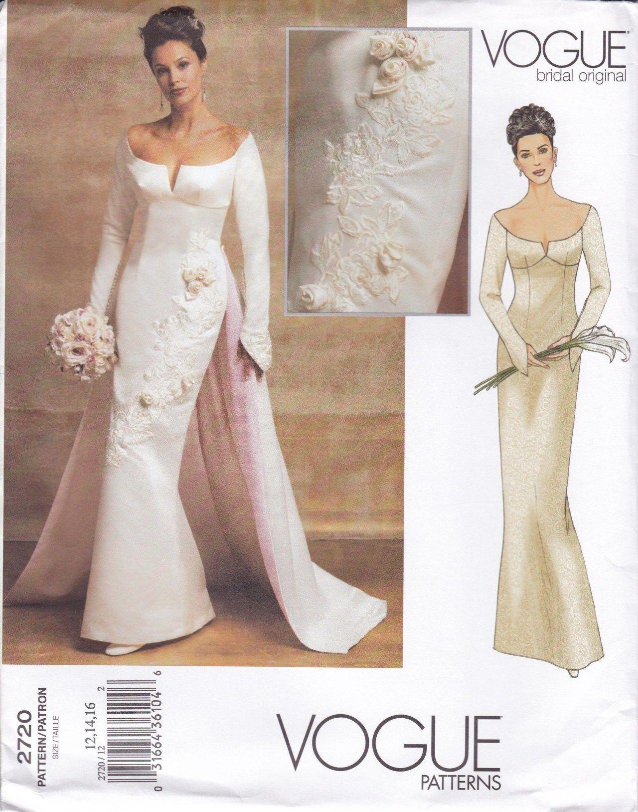 Wedding Dress Patterns To Sew Wedding Gown Sewing Patterns Luxury Free Us Ship Vogue 2720 Bridal Figswoodfiredbistro Com Wedding Dress Sewing Patterns Sewing Wedding Dress Gown Sewing Pattern