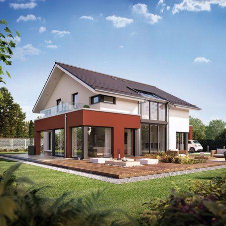 Musterhaus modern satteldach  modern-classic-zeigt-eine-zeitgemaesse-aber-zurueckhaltende ...