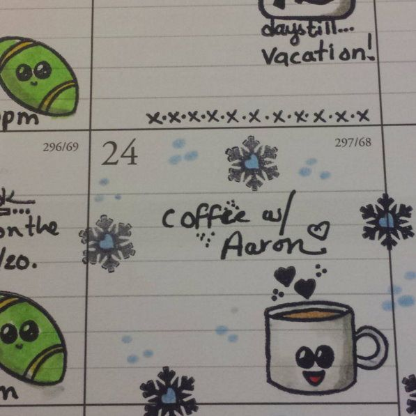A Sample Of How I Used Or Brand New Calendar Planner Stamps Http