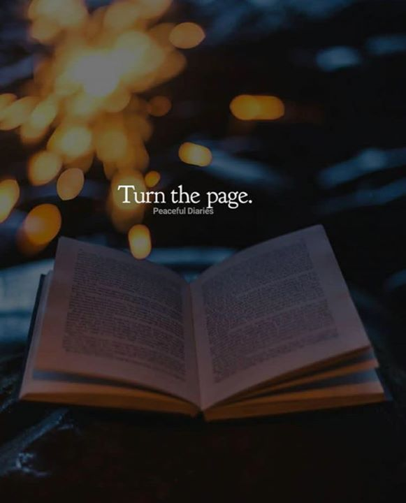 Turn the page start a new chapter.   New chapter quotes, New ...