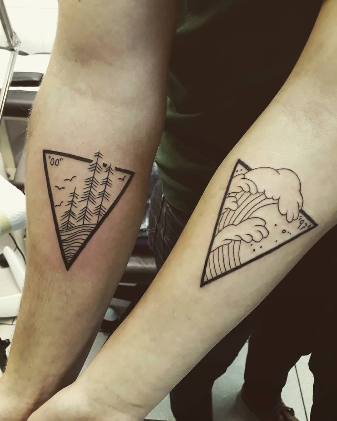 24+ Stunning Brother and sister tattoos for 4 ideas