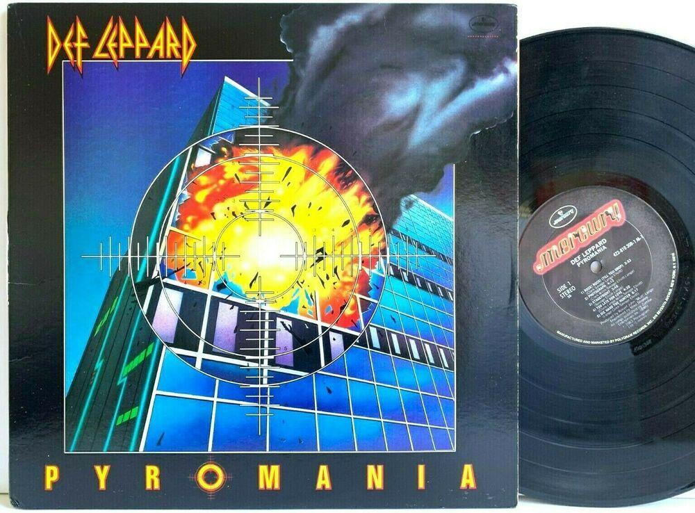 Def Leppard Pyromania 1983 Mercury Us Pressing Lp Vinyl Record Album Capitolcollectibles Com Stores Ebay Com Vinyl Records Vinyl Record Album Record Album