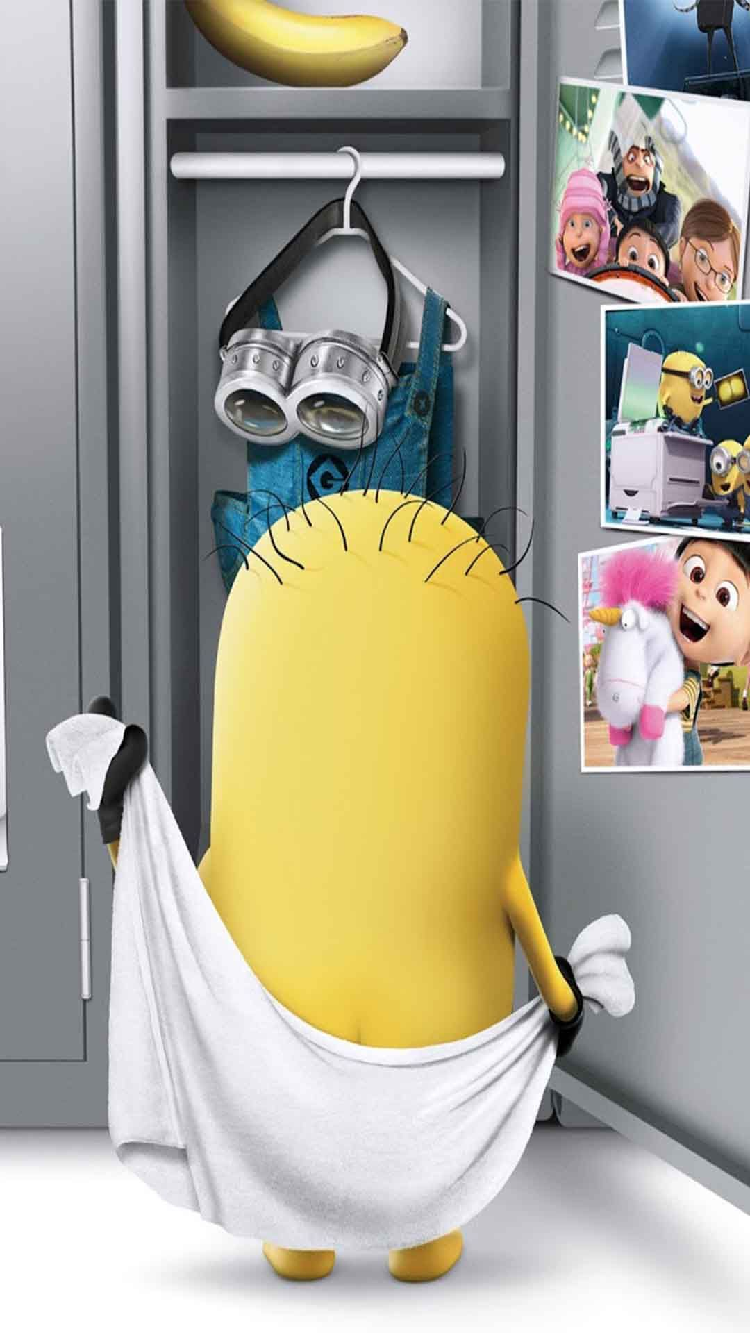 Minion Towel Iphone Wallpapers Minions Gathered Together To