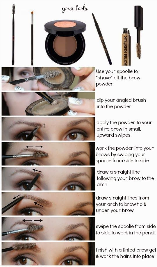 How to Fill in Your Brows Like a Pro (With images ...