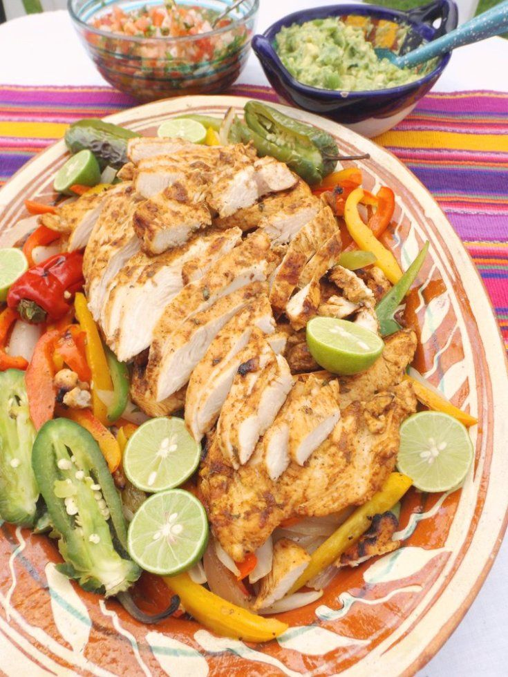 Beer Marinated Grilled Chicken Fajitas Recipe Cooking Recipes