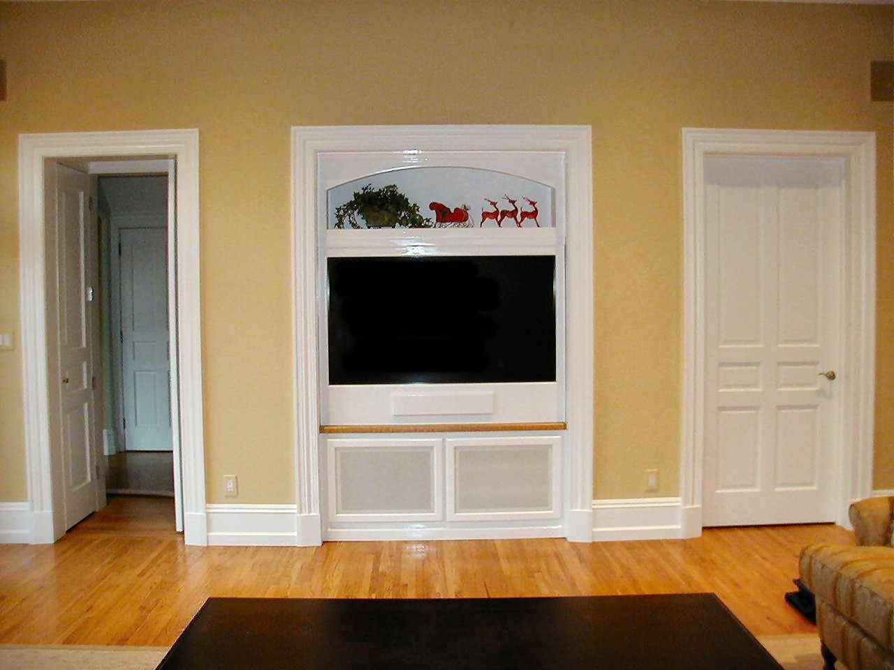 Room Built In Wall Cabinets Plans