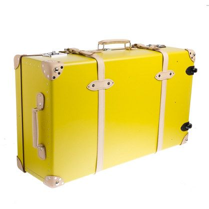 "Jcrew Globe-Trotter® Centenary 33"" extra-deep suitcase with wheels ($1750 later)"