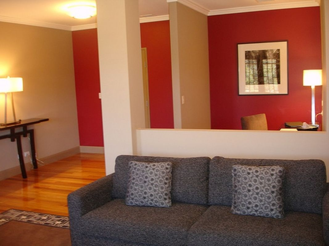 Painting Ideas For Living Room With Red Blend Colour Accent Walls In Living Room Living Room Paint Living Room Color Schemes #painting #living #room #red