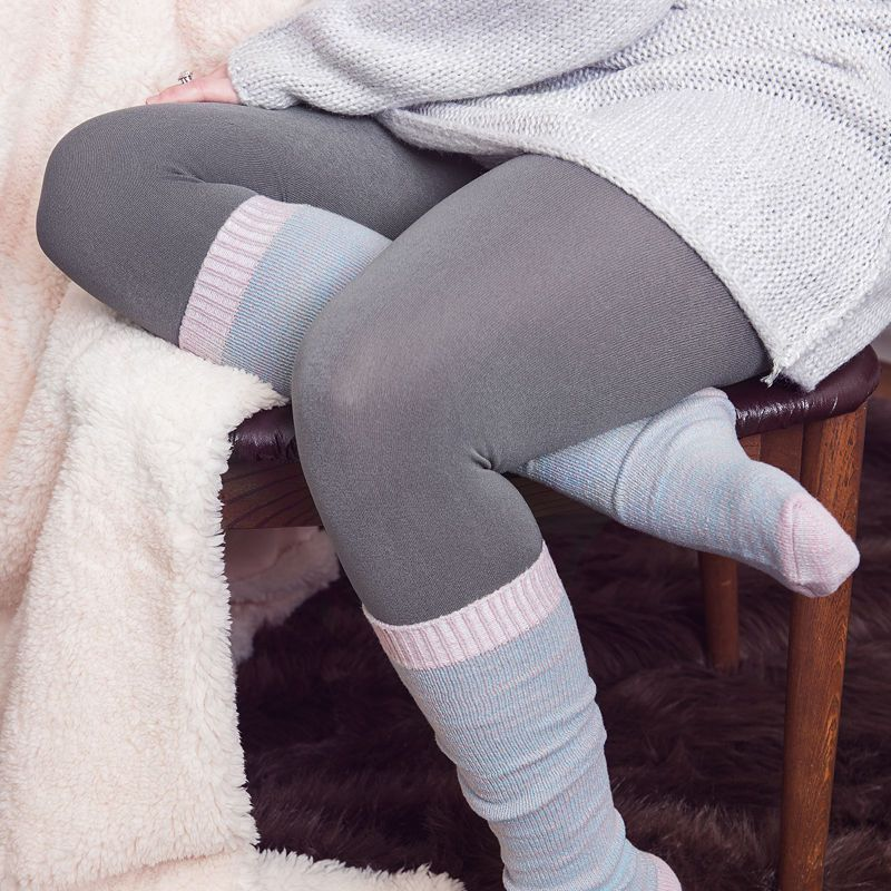 f36bb77e086bd Muk Luks 2-pc. Fleece Lined Tights | Products in 2019 | Wool tights ...
