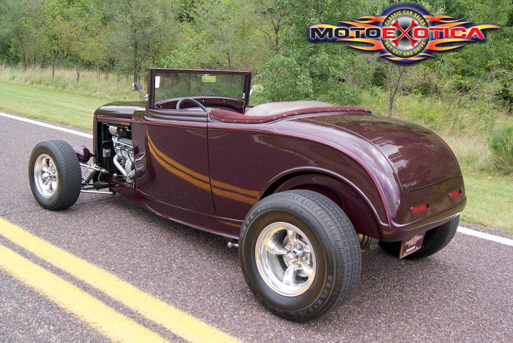Hot Rod Drawing 1932 Ford Highboy Convertible Motoexotica