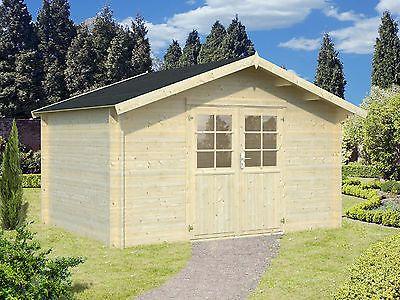 34mm Gartenhaus Greta Ca 4x3m Geratehaus Blockhaus Holz Haus Preis