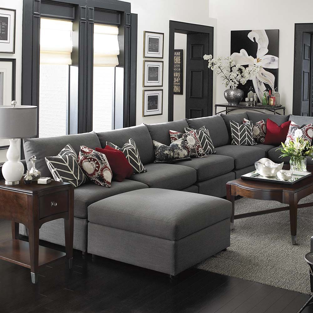 Best Beckham U Shaped Sectional Shapes Spaces And Room 640 x 480