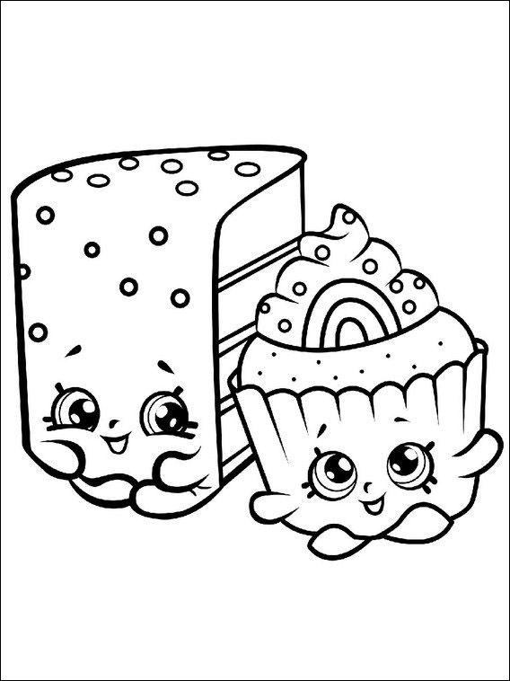 Malarbilder Farglaggningsbilder For Barn Shopkins 8 Adult