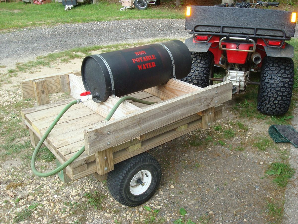cart covered wagon garden diy kids id