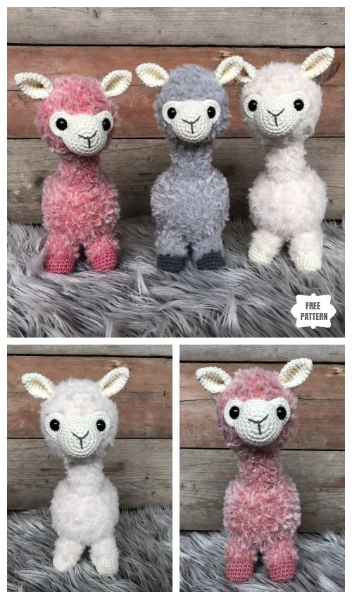 Crochet Alpaca Amigurumi Free Patterns - DIY Magazine #crochetamigurumifreepatterns
