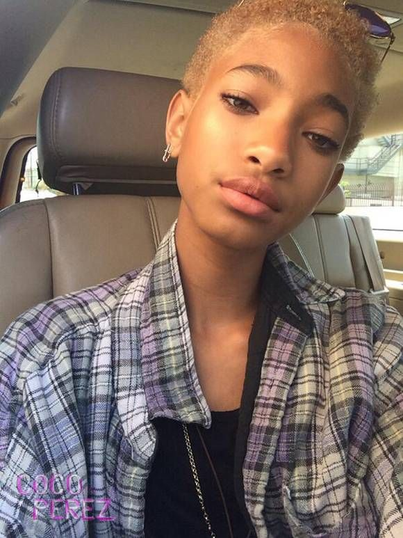 Willow Smith Goes Back To Blonde Haircolor 2014 Willow Smith Natural Hair Styles Hair Motivation