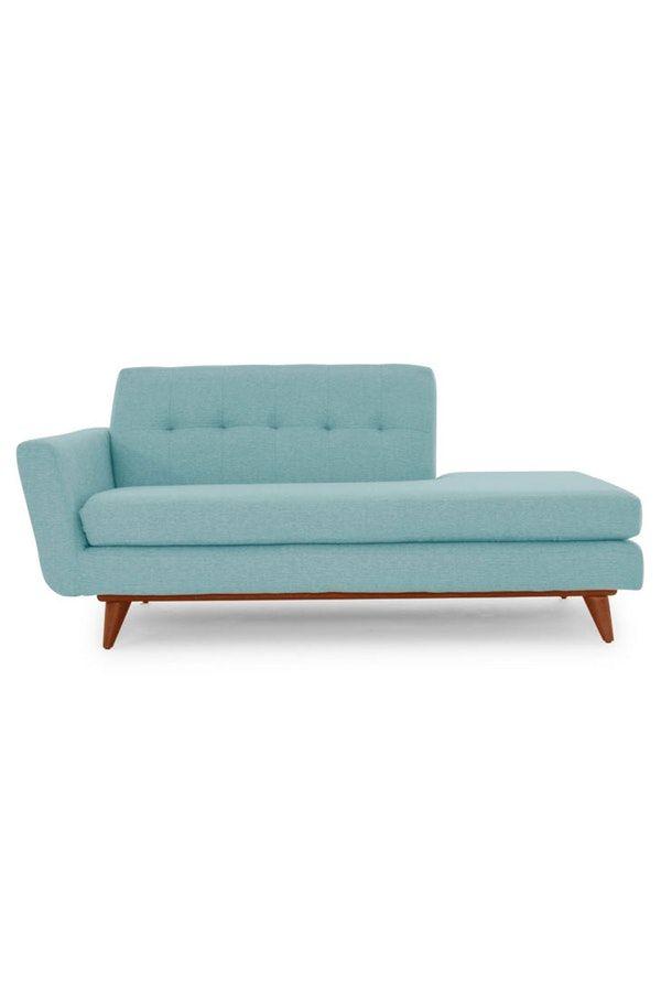 Hughes Chaise Mid Century Style Attic Design Furniture