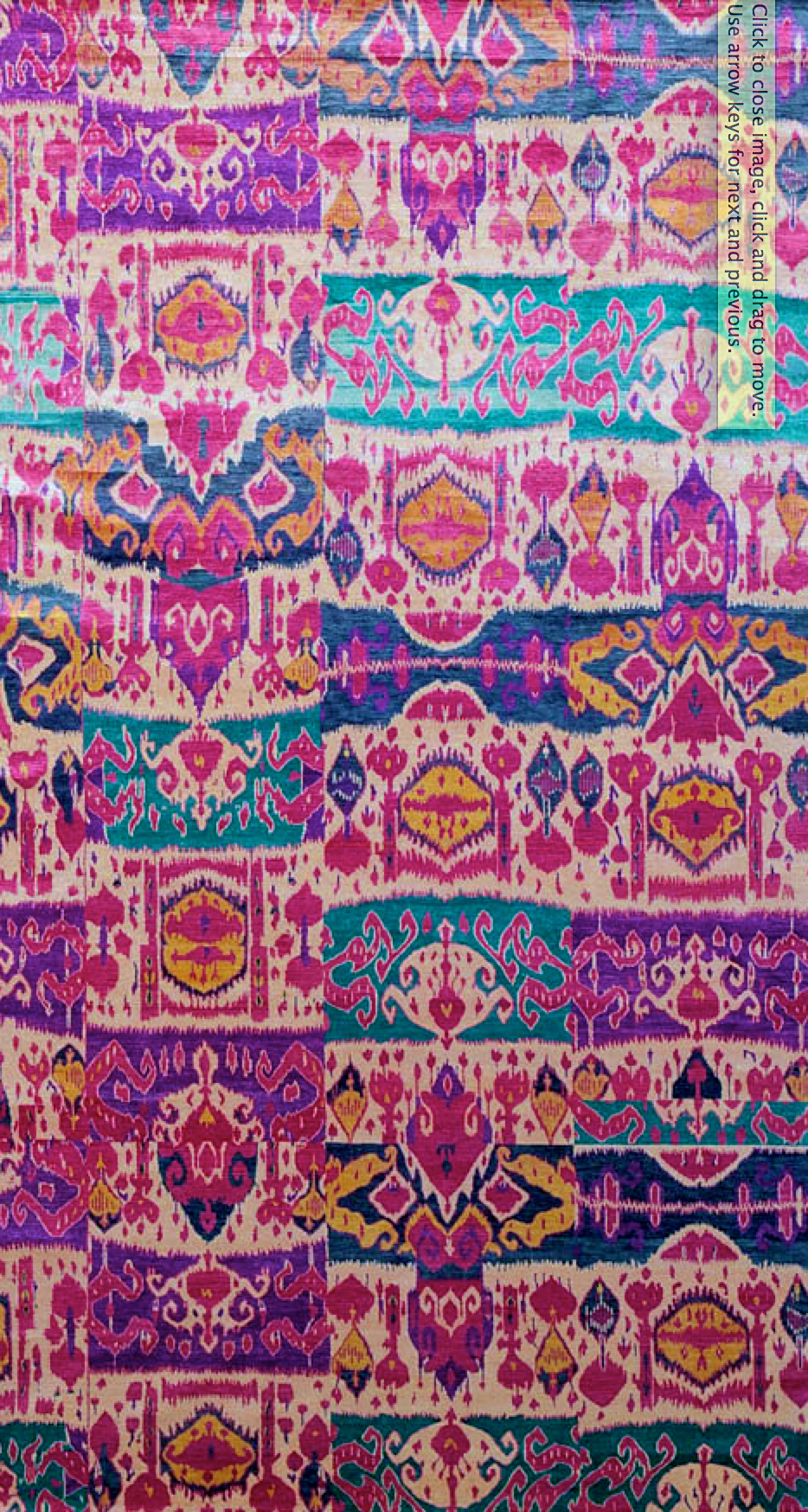 Cant Find Link But Gorgeous Handmade Rug I Want These Colors Would Go