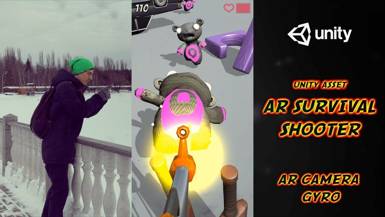 AR Survival Shooter 🎯 Augmented Reality for Unity 🎯 AR
